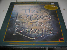 The Lord of the Rings double LP soundtrack  box set new sealed deluxe Fantasy