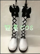 Anime Black Butler Book of Circus Ciel Phantomhive Cosplay Shoes Boots
