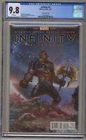 Infinity 2 CGC 9.8 Lee Variant Black Order Avengers Movie Thanos Black Dwarf