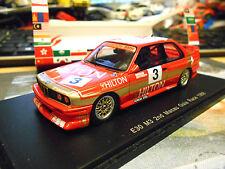 BMW M3 E30 Macau GP 1988 Giua #3 Oestreich 2nd Hilton 1/300 Spark Res 1:43