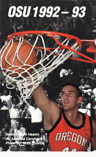 1992-93 OREGON STATE BEAVERS BASKETBALL POCKET SCHEDULE