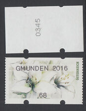 Österreich, postfr. **, AWZ,ATM,68 C,25.08.2016,GRÜN, Gmunden 2016; NR-0355