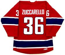 MATS ZUCCARELLO TEAM NORWAY AUTHENTIC RED HOCKEY JERSEY NEW YORK RANGERS