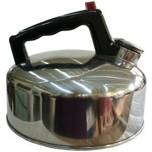 Stove top Whistling Kettle Stainless steel whistle Camping gas hob,camp 2 litre