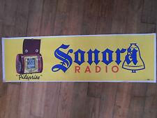 Affiche originale - poste radio SONORA  - Piléprise