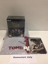 LARA CROFT AND THE TEMPLE OF OSIRIS GOLD EDITION + STEELBOOK + T-SHIRT PC - NEW