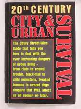20th Century City & Urban Survival, None Listed, Good Book