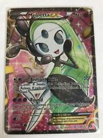 Meloetta EX FULL ART RC25/RC25 BW Legendary Treasures Pokemon Card, NM Holo TCG