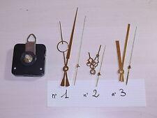 Meccanismo orologio muro ingranaggio Silenzioso NO TICTAC clock lancette ORO