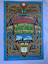 Original 1976 KSAN Radio Mouse & Kelley Psychedelic Poster