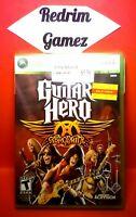 Guitar Hero Aerosmith NEW XBOX 360 Video Games