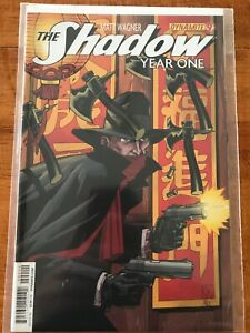 THE SHADOW: YEAR ONE #9 MATT WAGNER VARIANT COVER DYNAMITE COMICS BOOK - NM