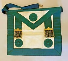 Egyptian Masonic Apron United Services Lodge 195 Port Said 100 Years Old