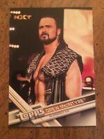 Drew Mcintyre Topps WWE 2017  Card
