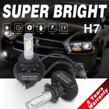 Fanless H7 50W 8000LM LED Headlight Conversion Kit 6500K Low Beam Car Bulbs