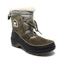 Sorel Tivoli III Waterproof Suede Boots in Nori Sage Womens Size 7