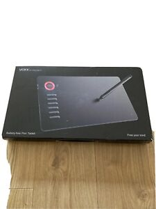 VEIKK A15 Graphics Drawing Tablet with Pen - Red