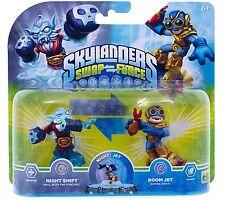 Skylanders Swap Force >> NIGHT SHIFT & BOOM JET << Double Pack - NEU