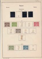 german 1914/15 stamps page ref 17458
