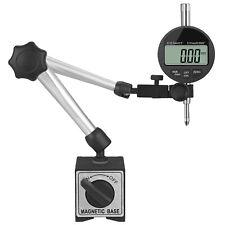 176 Lbs Flexible Magnetic Base Holder Stand Dial Test Indicator Gauge Tool Set