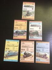TRAINS Railways NEVIS Thematic STAMP Collection UNMOUNTED MINT