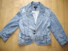 H & M Jeansjacke Jeans Jacke Blazer Jeansblazer Gr 38 40 M washed