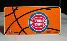 Detroit Pistons NBA License Plates