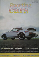 Sporting Cars 05/1984 featuring Gilbern, Porsche, Lotus, Reliant, Audi Quattro