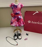 American Girl Doll Luciana Vega Meet Outfit Girl of the Year 2018 w/ Watch