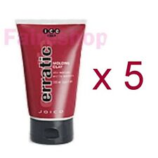 Joico ICE Erratic Hair Styling Molding Clay Paste Curls Dreads Matte 100ml x 5