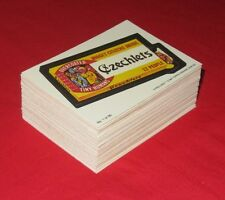 1987 O PEE CHEE WACKY PACKAGES REPRINTS   @@  PICK ONE  @@   1-66