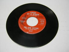 King Sisters Lovin Up a Storm/What Would I Do 45 RPM