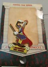 Disney WDW I Conquered The World Pin Pursuit Goofy Pin