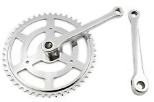 """50's,60's,70's,80's TOWN BIKE 48 TEETH SINGLE 1/8"""" CP COTTERED CHAINSET 170mm"""