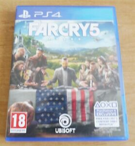 Far cry 5 Game for Sony PS4 Playstation 4