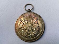 Médaille en Argent //  concours de manoeuvres de   pompes à  incendie //