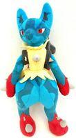 Tomy Pokemon Blue Mega Lucario XY Nintendo Soft Plush Doll Toy  2016