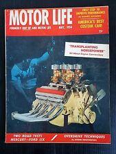 Motor Life May 1954 - V-8 Mercury - Ford Modern Six - Buick Skylark - Nash NX1
