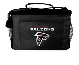 NFL Insulated Tote Atlanta Falcons Insulated Lining Adjustable Shoulder Strap