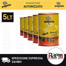 OLIO BARDAHL XTC C 60 10W-40 5 LITRI OLIO MOTORE TAGLIANDO AUTO