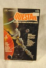RARE QUESTAR ILLUSTRATED SCIENCE FICTION #1 1979 GOLDEN PRESS MAGAZINE