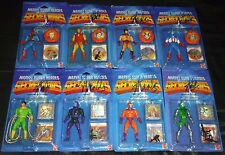 STAN LEE (X8) Authentic Hand-Signed Full Set SECRET WARS figures JSA/COA ~ PROOF