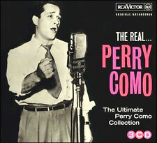 PERRY COMO * 60 Greatest Hits * Import 3-CD BOX SET * All Original Songs * NEW