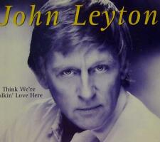 John Leyton(CD Single)Think We're Talkin' Love Here-Mooncrest Records-C-New