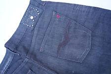 REPLAY WV524.034 Damen Jeans Hüft Hose stretch 30/34 W30 L34 anthrazit black NEU