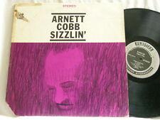 ARNETT COBB Sizzlin' Red Garland George Tucker J.C. Heard Prestige 7227 RVG LP