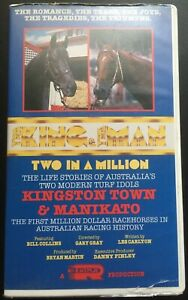 The King & The Man: Two In A Million RARE VHS/Video