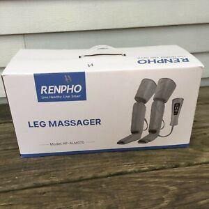 RENPHO Leg Massager for Circulation - Air Compression Calf Thigh Feet - 6 Modes