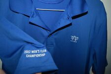 ACC AUSTIN TEXAS COUNTRY CLUB under armour Polo Golf Shirt Mens Large Jersey