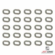 SEA-DOO Spark Hull Washer Kit 25 Stainless Steel Body Deck Washers 291003880